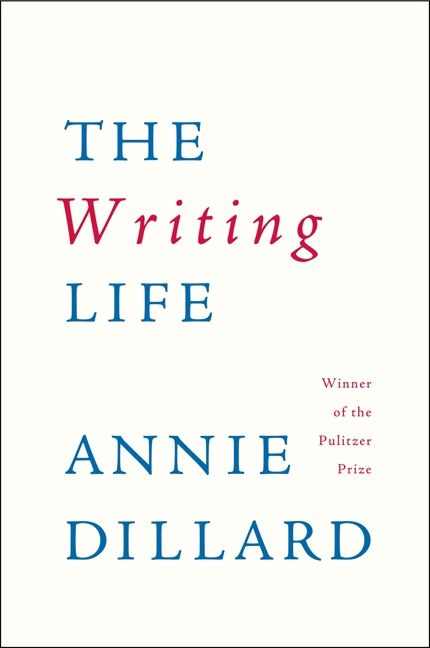 The cover of the book The Writing Life