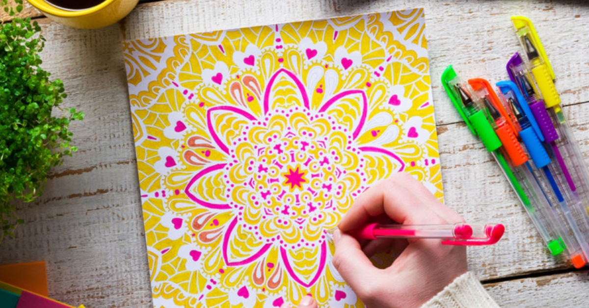 Adult Coloring Books For Self-Care Read It Forward
