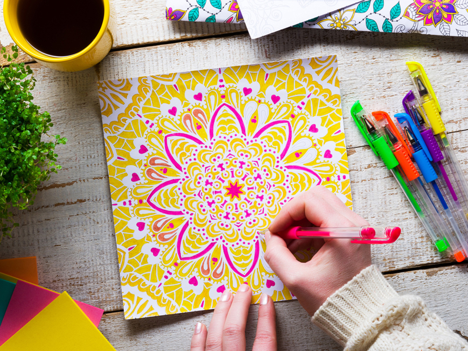 10 coloring books for self care read it forward