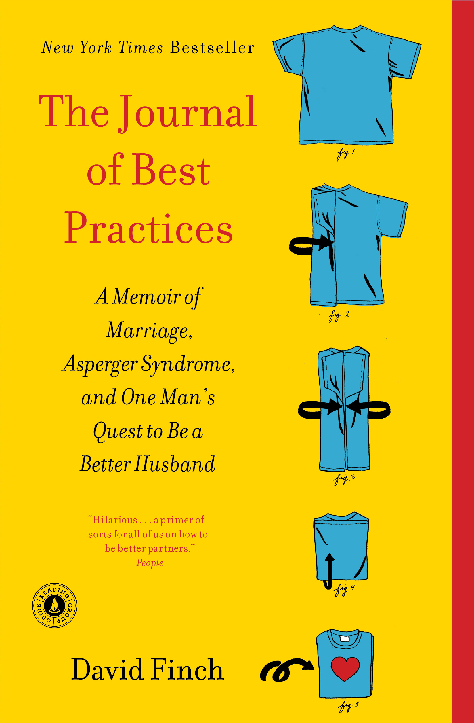 The Journal of Best Practices: A Memoir of Marriage, Asperger Syndrome, and One Man's Quest to Be a Better Husband by David Finch
