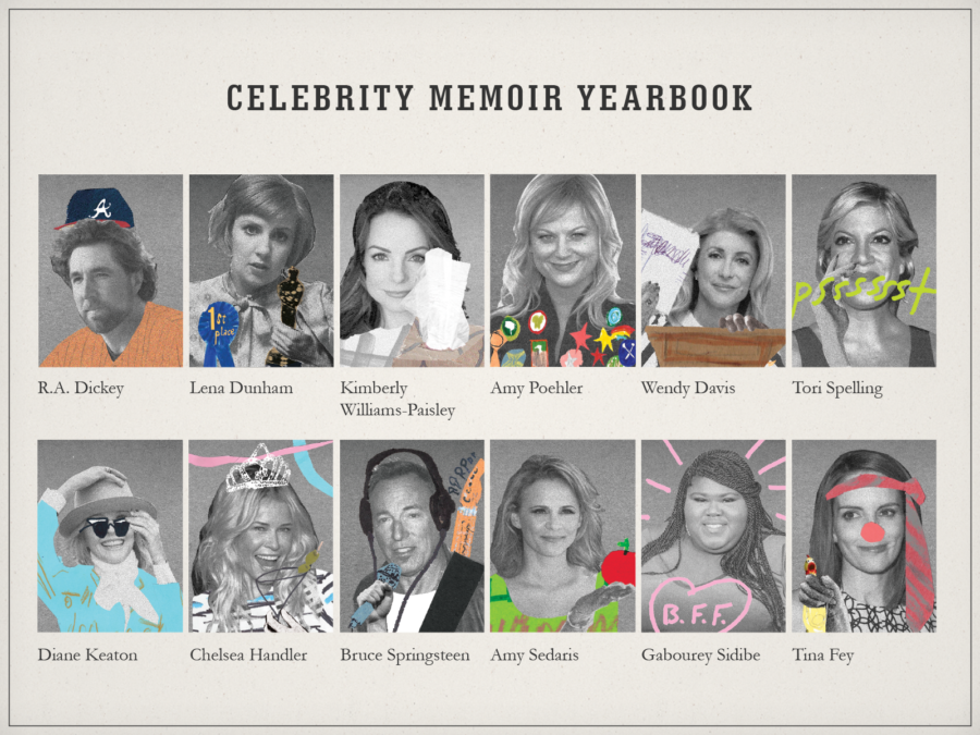 Celebrity Memoir Superlatives