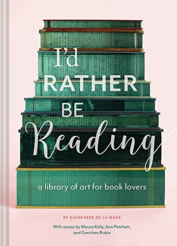 The cover of the book I'd Rather Be Reading