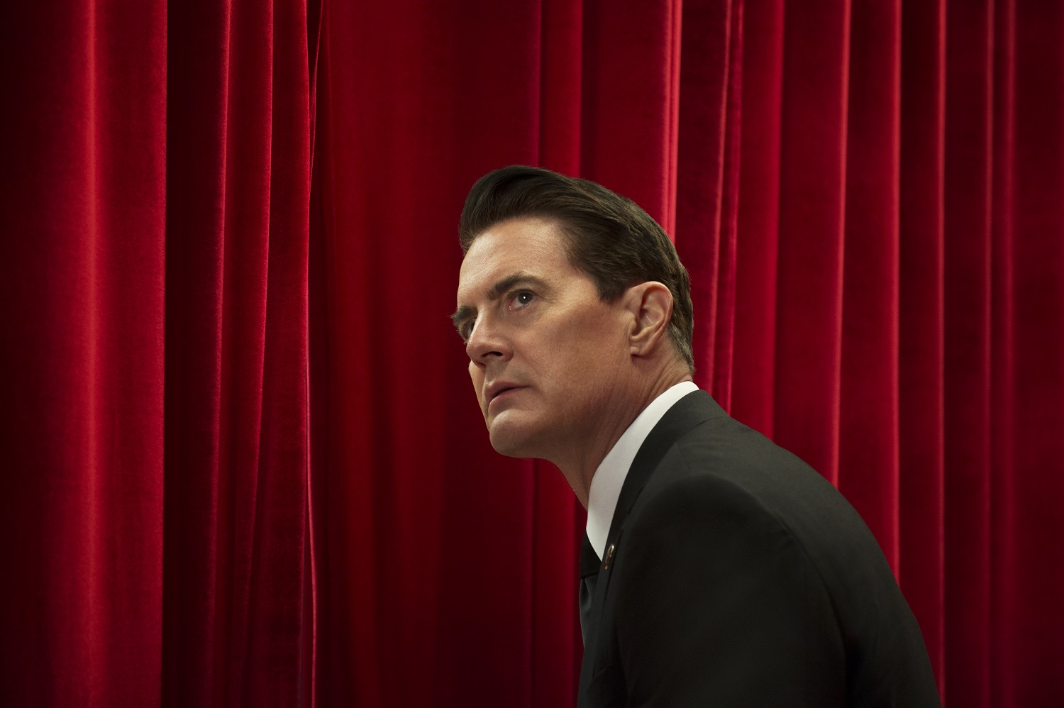 Kyle MacLachlan in a still from Twin Peaks.
