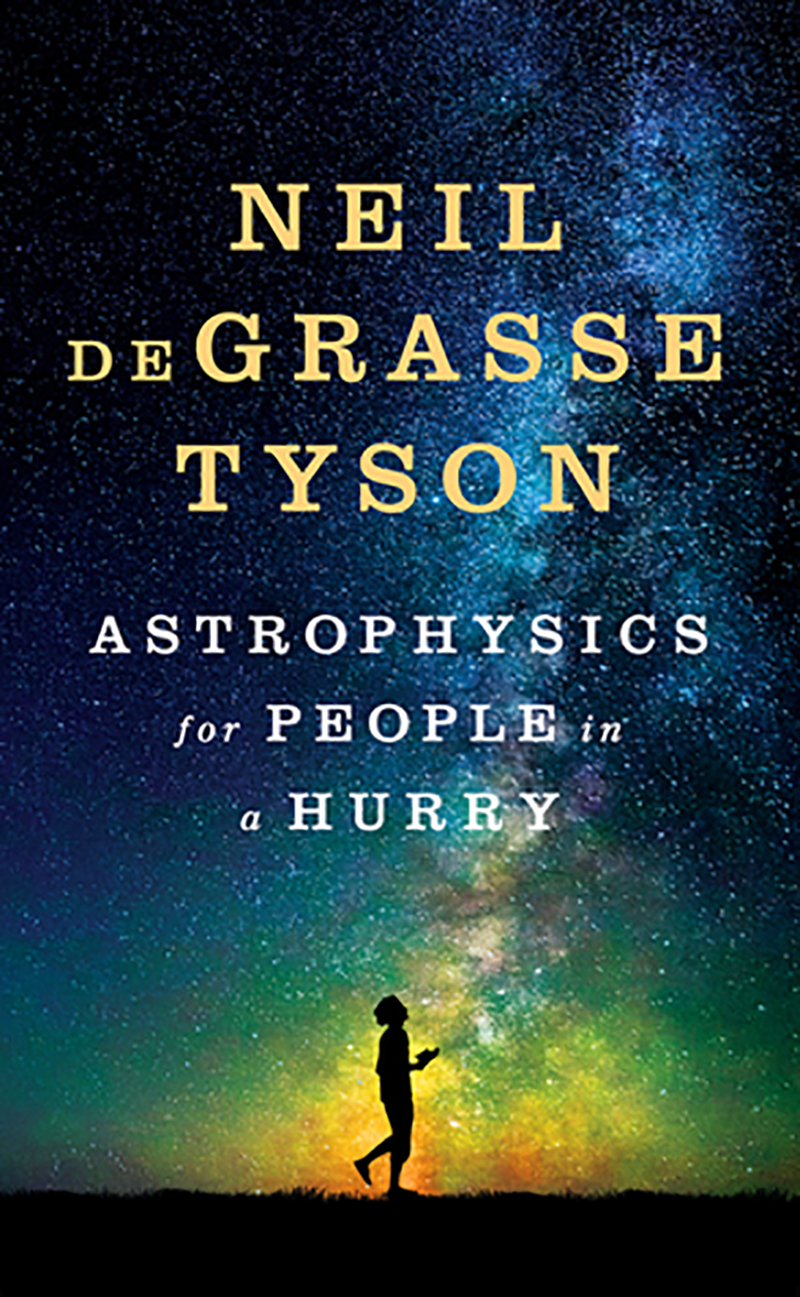 The cover of the book Astrophysics for People in a Hurry