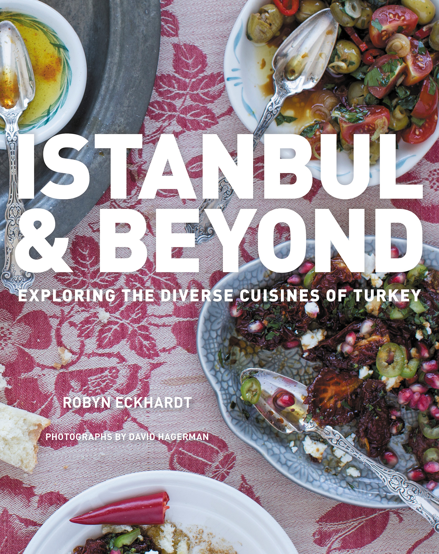 The cover of the book Istanbul and Beyond: Exploring the Diverse Cuisines of Turkey