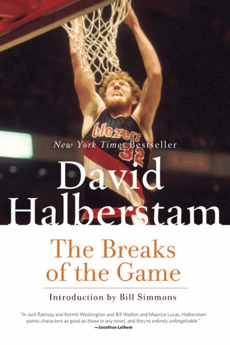 The cover of the book THE BREAKS OF THE GAME