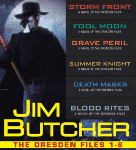 The cover of the book The Dresden Files Series
