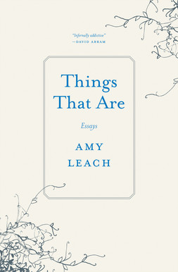 The cover of the book Things That Are