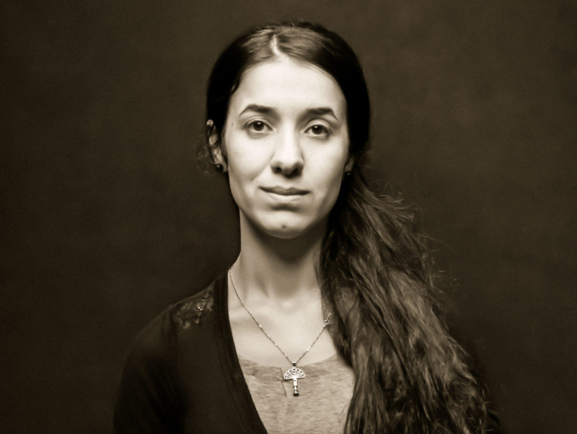 Nadia Murad, in a photograph for her book, The Last Girl.