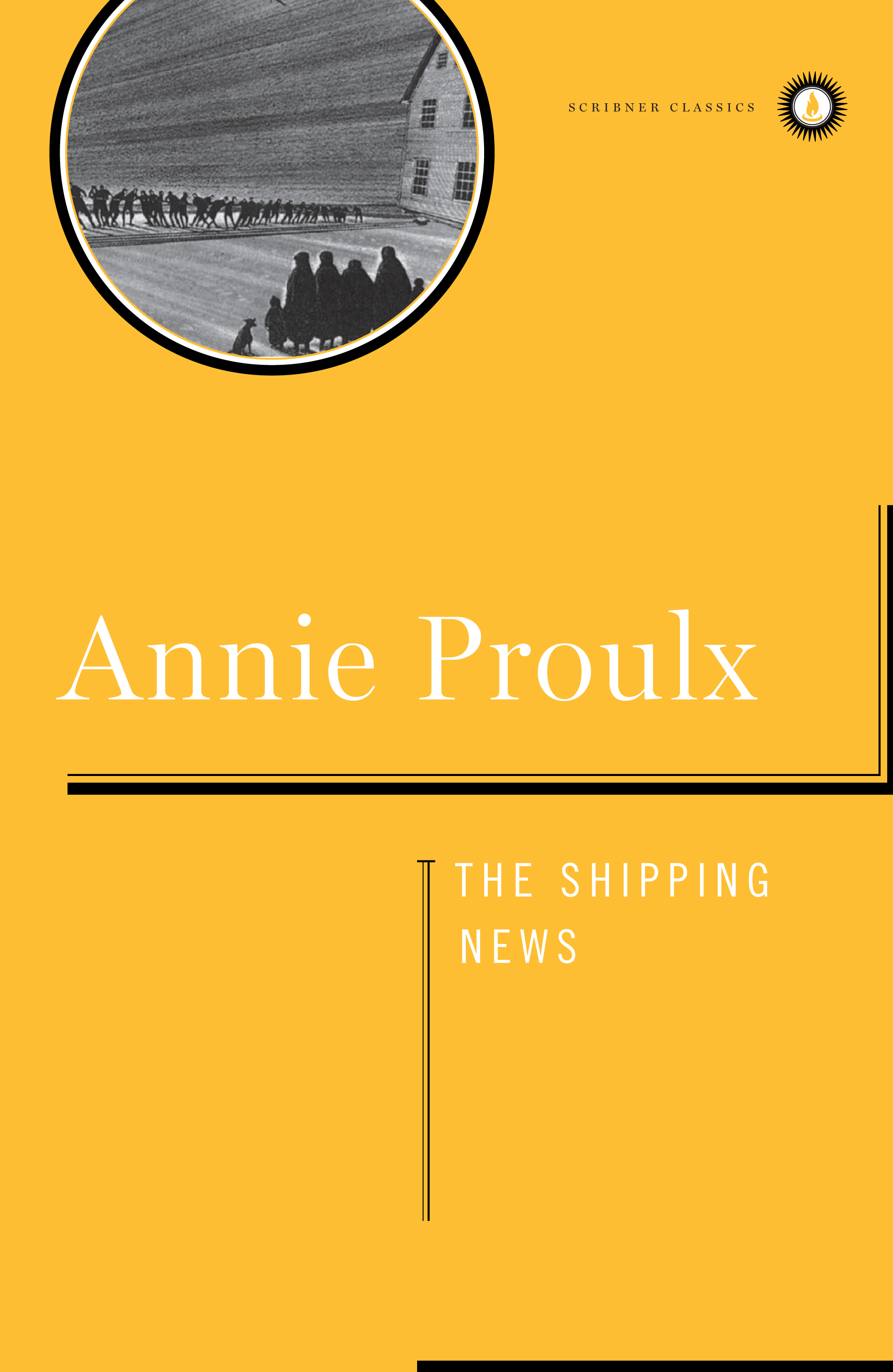 The cover of the book Shipping News
