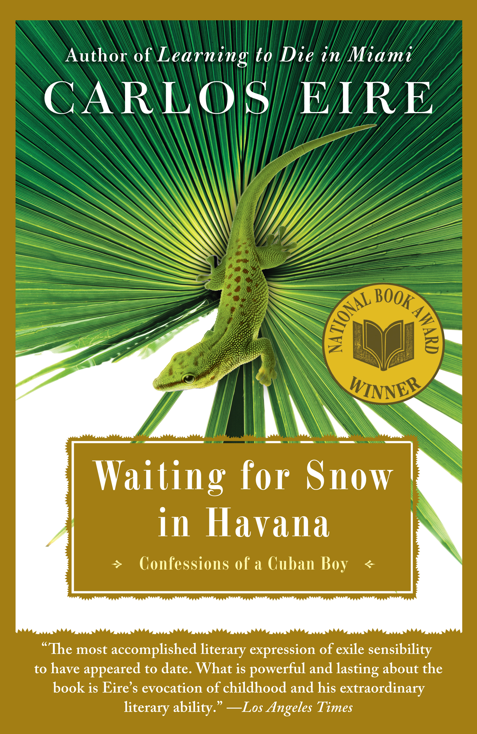 The cover of the book Waiting for Snow in Havana