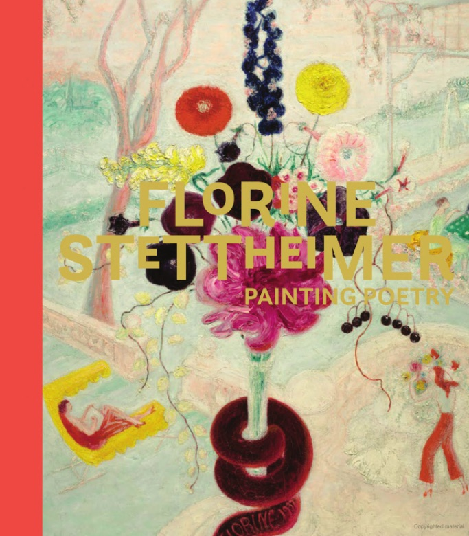 The cover of the book Florine Stettheimer: Painting Poetry