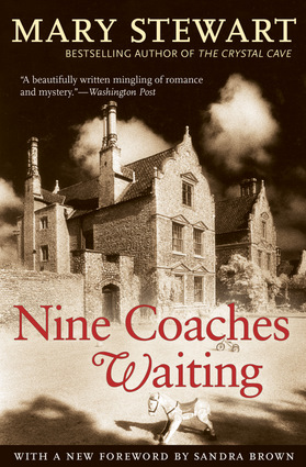 The cover of the book Nine Coaches Waiting