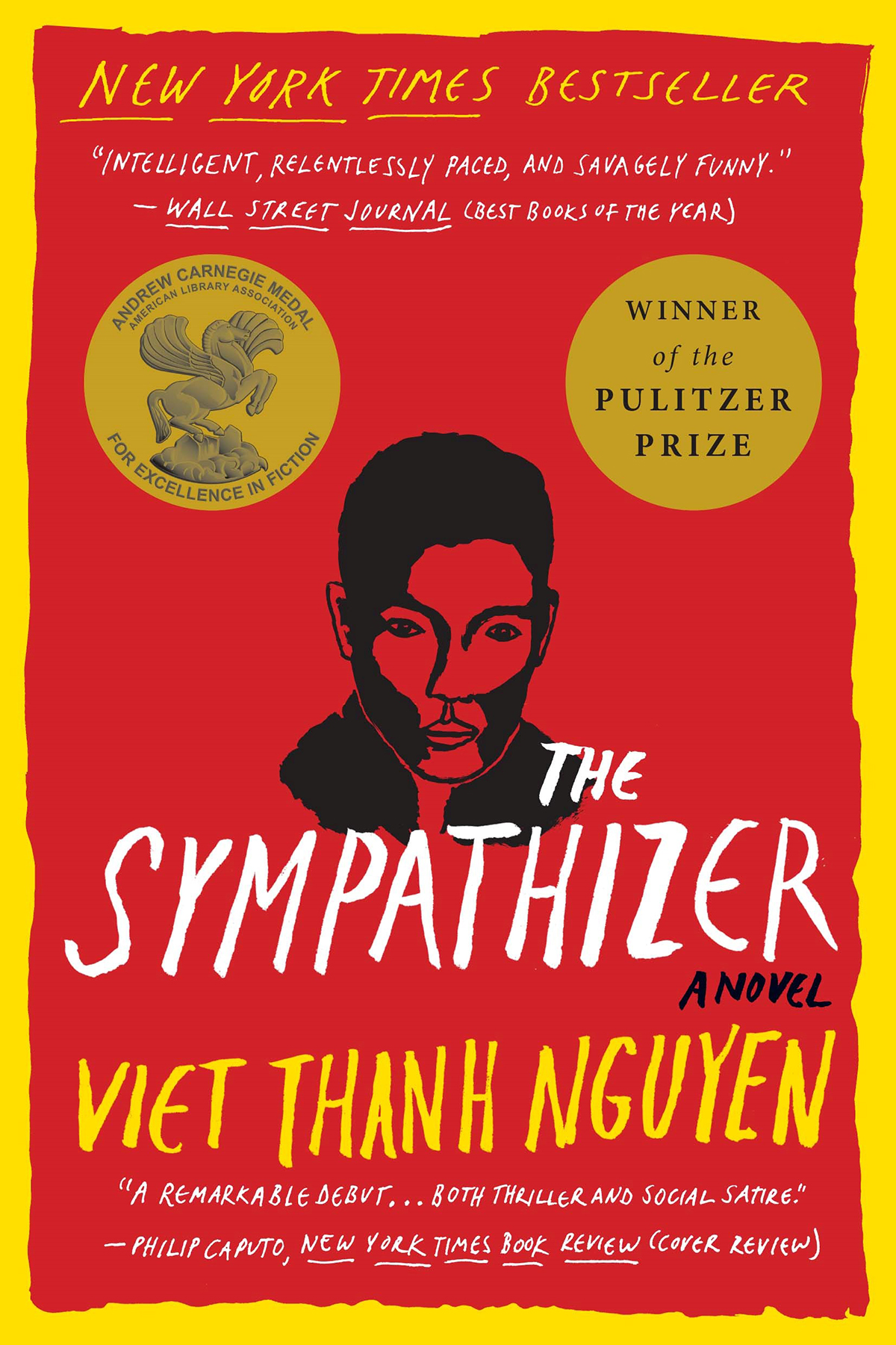 The cover of the book The Sympathizer
