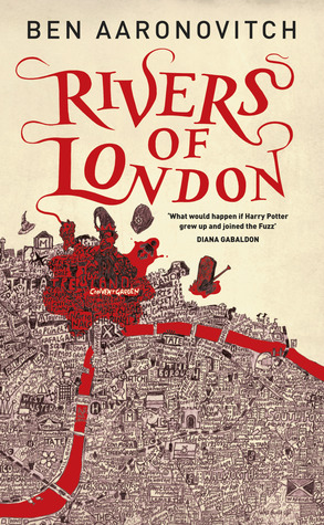The cover of the book Rivers of London