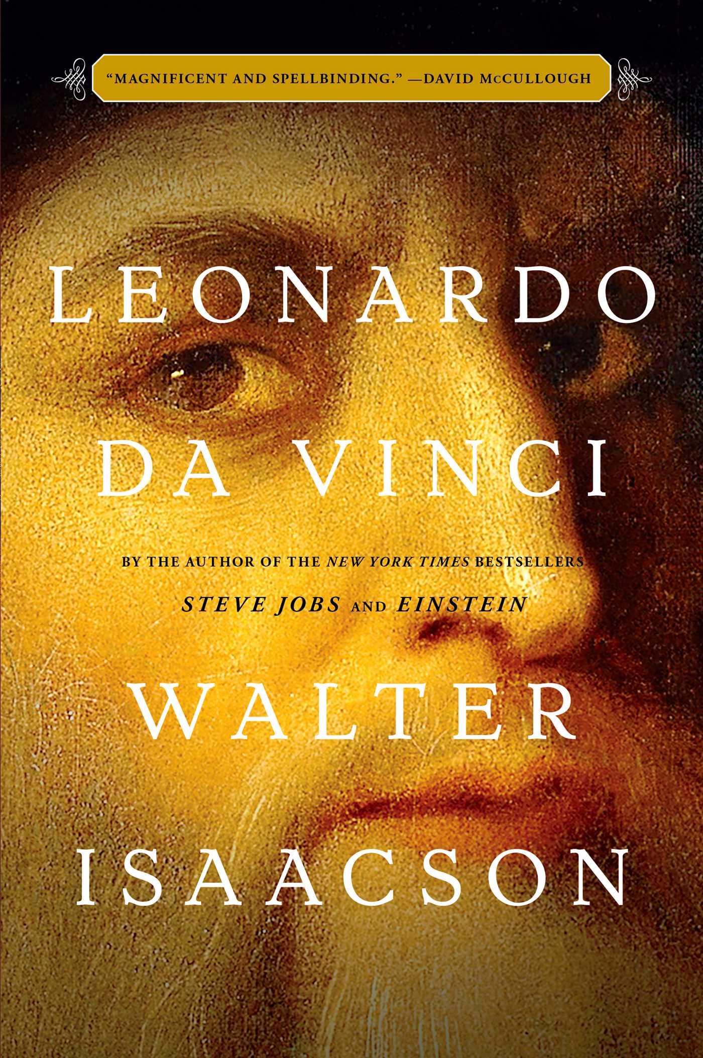 The cover of the book Leonardo da Vinci