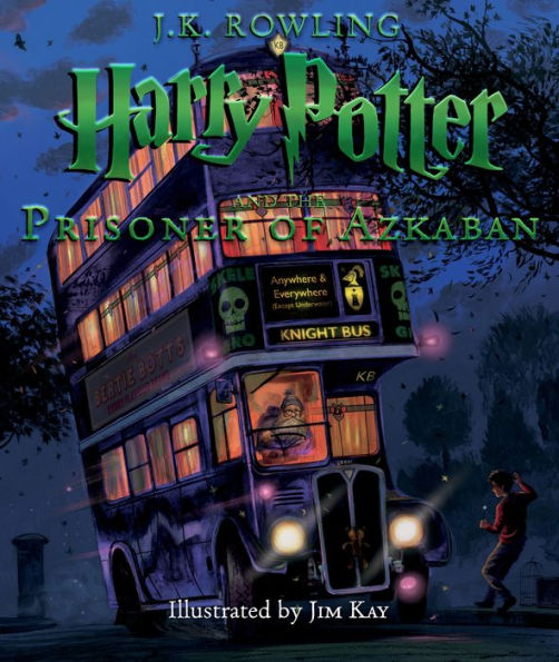 The cover of the book Harry Potter and the Prisoner of Azkaban: Illustrated Edition