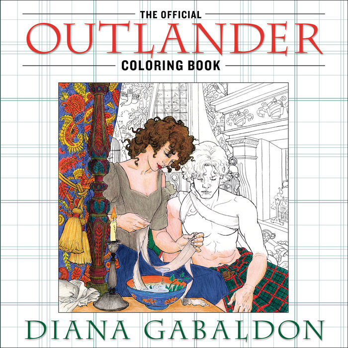 The Official Outlander Coloring Book by Diana Gabaldon