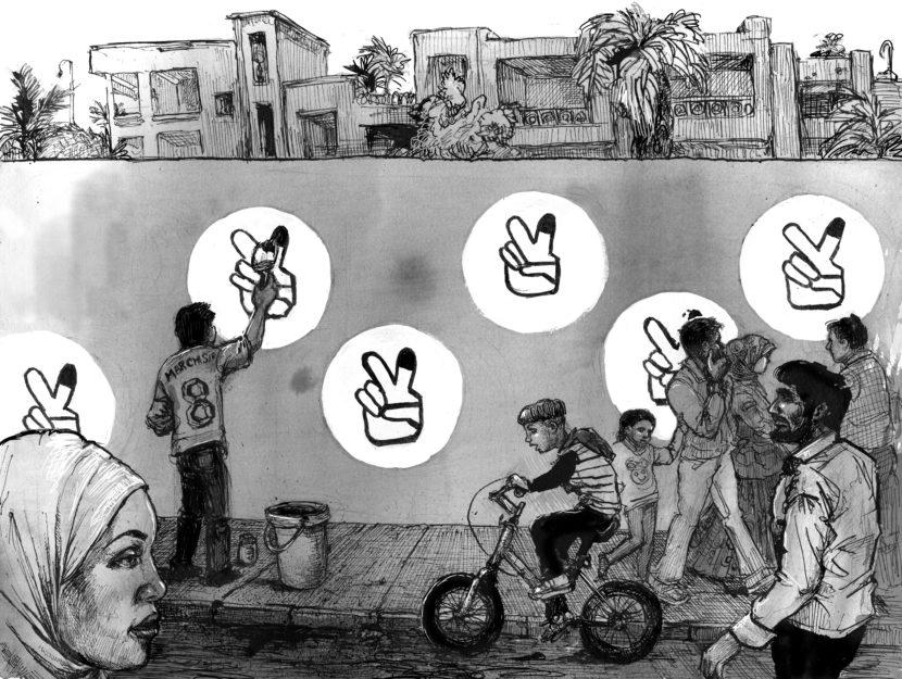 A Conversation Between Marwan Hisham and Molly Crabapple