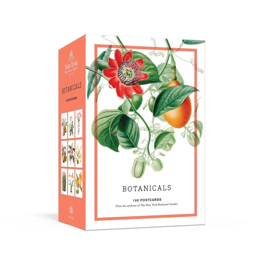 Gifts for mom: Botanicals postcards