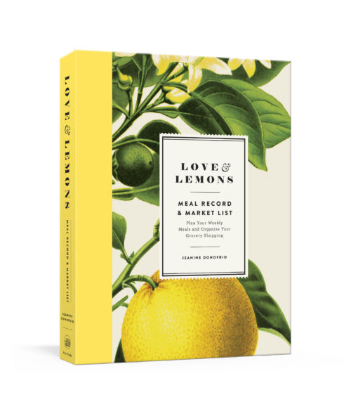 Gifts for mom: Love Lemons Meal Planner