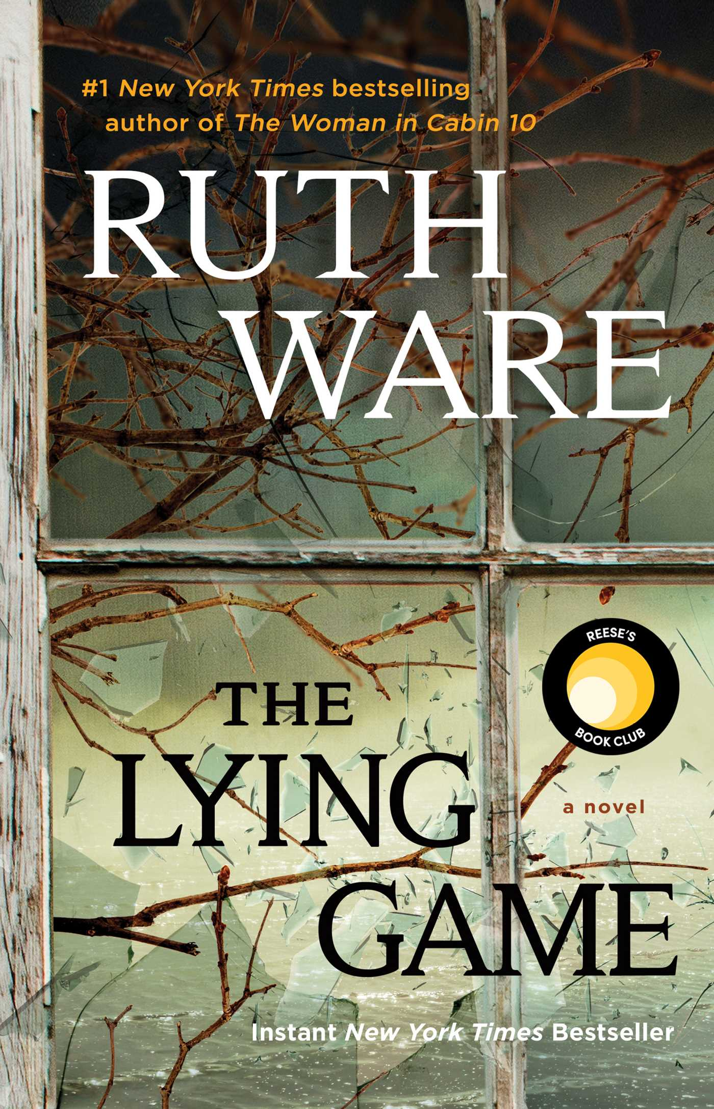 The cover of the book The Lying Game