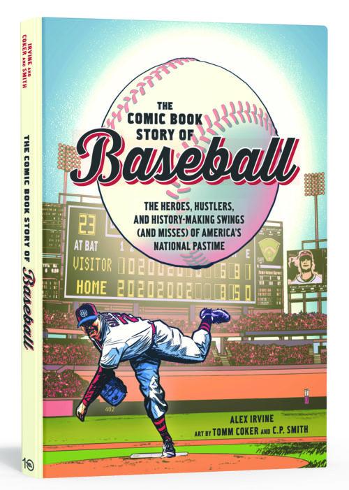 the comic book story of baseball