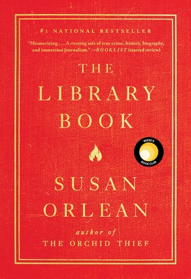 The cover of the book The Library Book