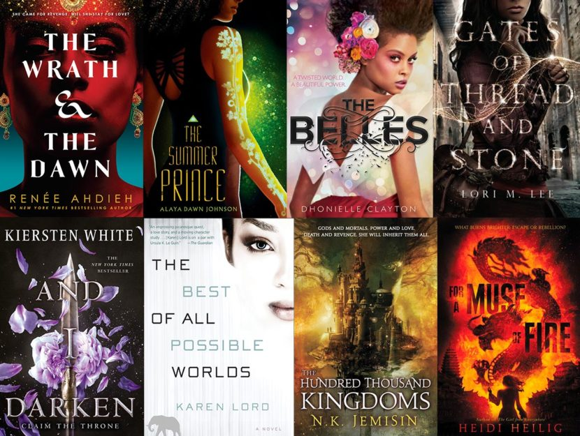 fantasy books by women