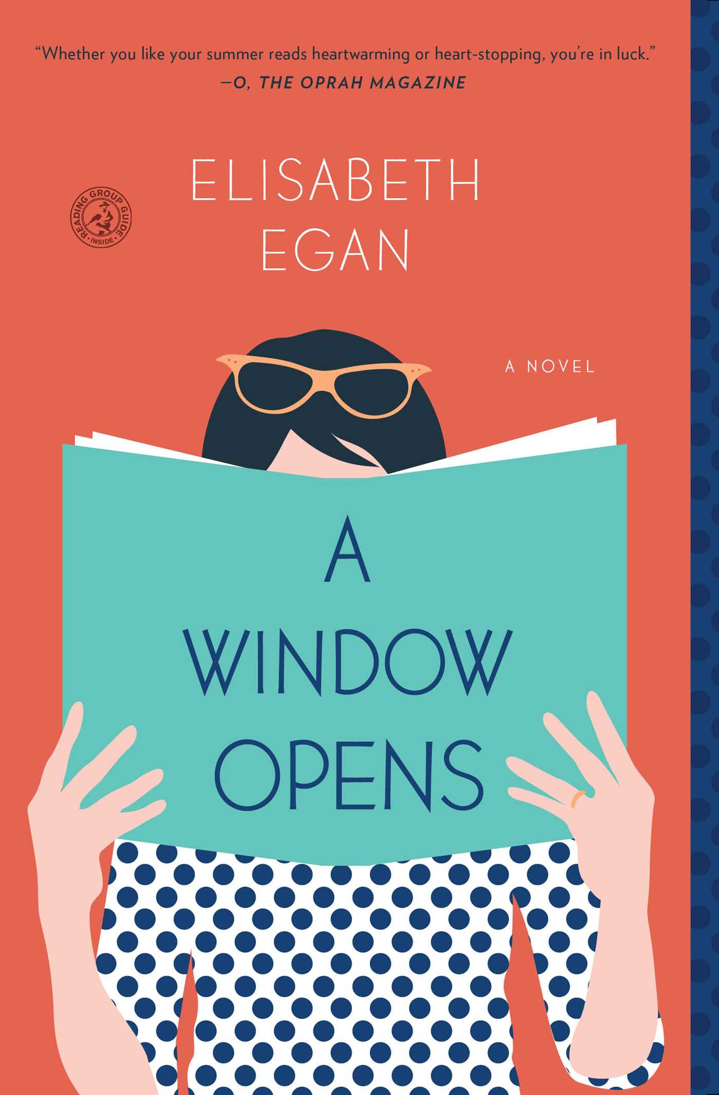 The cover of the book A Window Opens