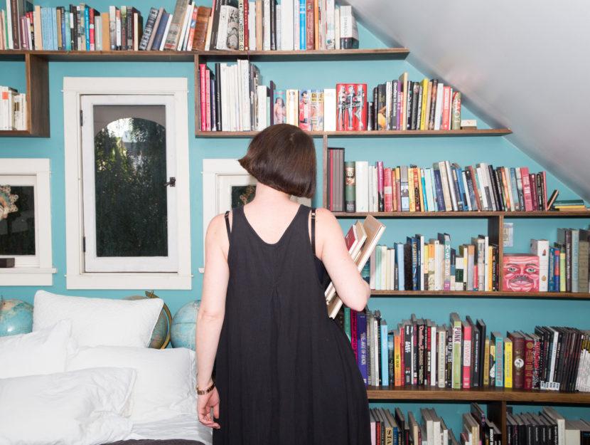 beautiful bookshelves