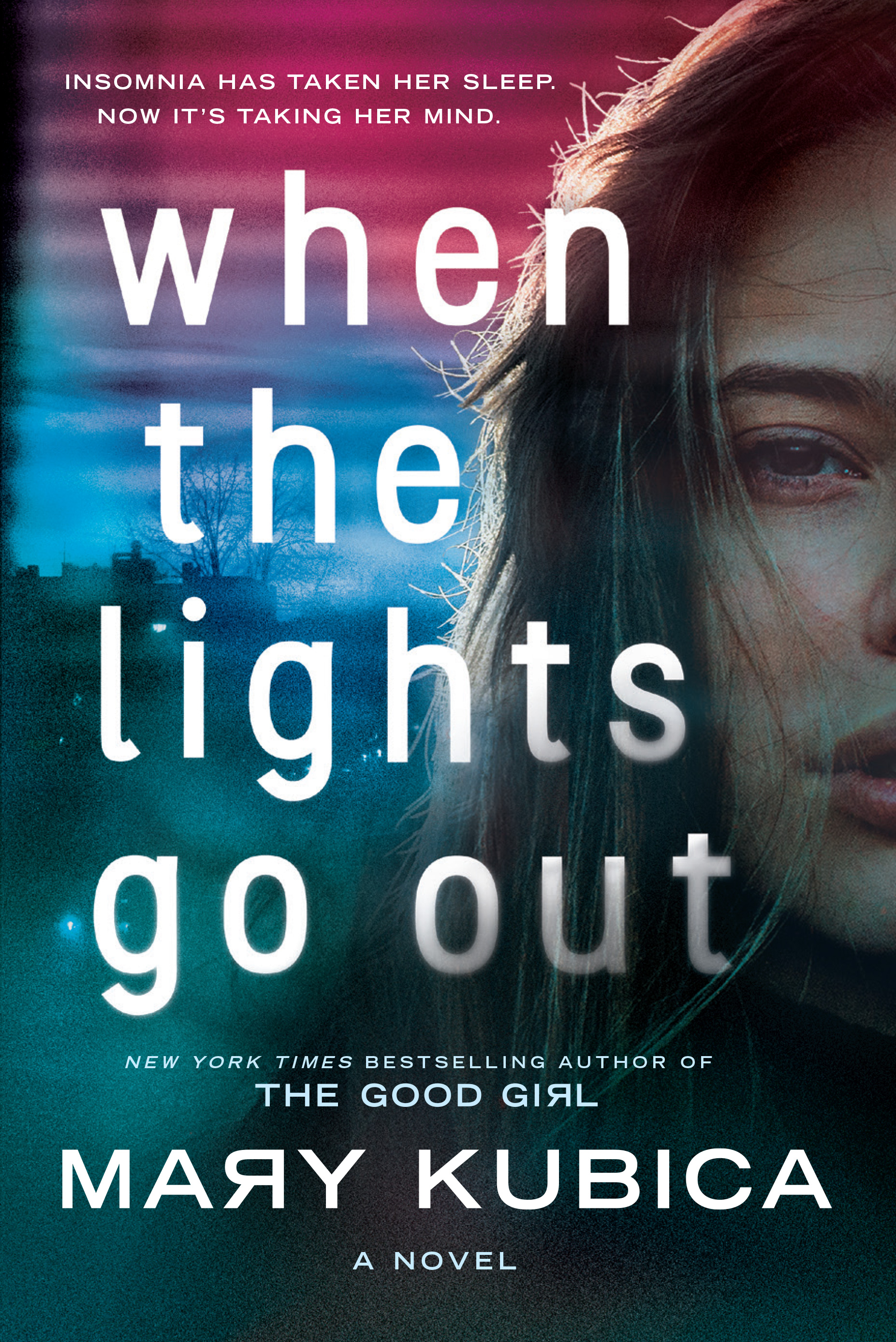 The cover of the book When the Lights Go Out