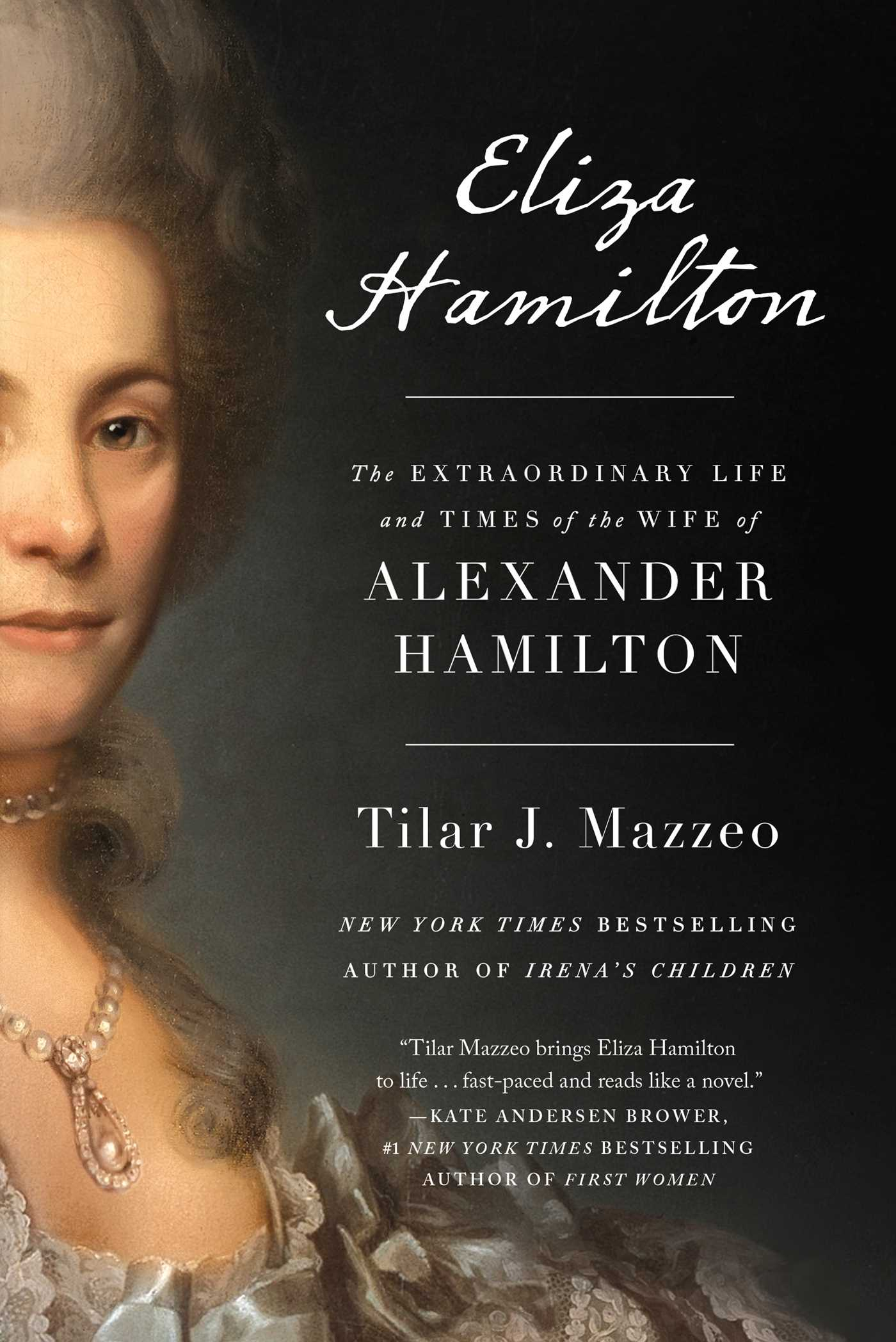 The cover of the book Eliza Hamilton