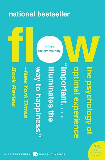 The cover of the book Flow