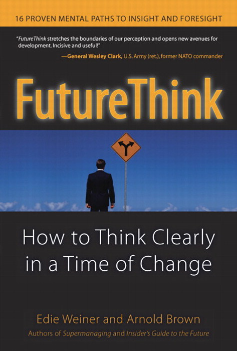 The cover of the book FutureThink
