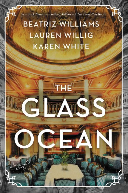 The cover of the book The Glass Ocean