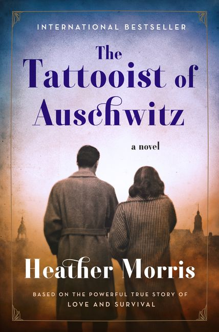 The cover of the book The Tattooist of Auschwitz