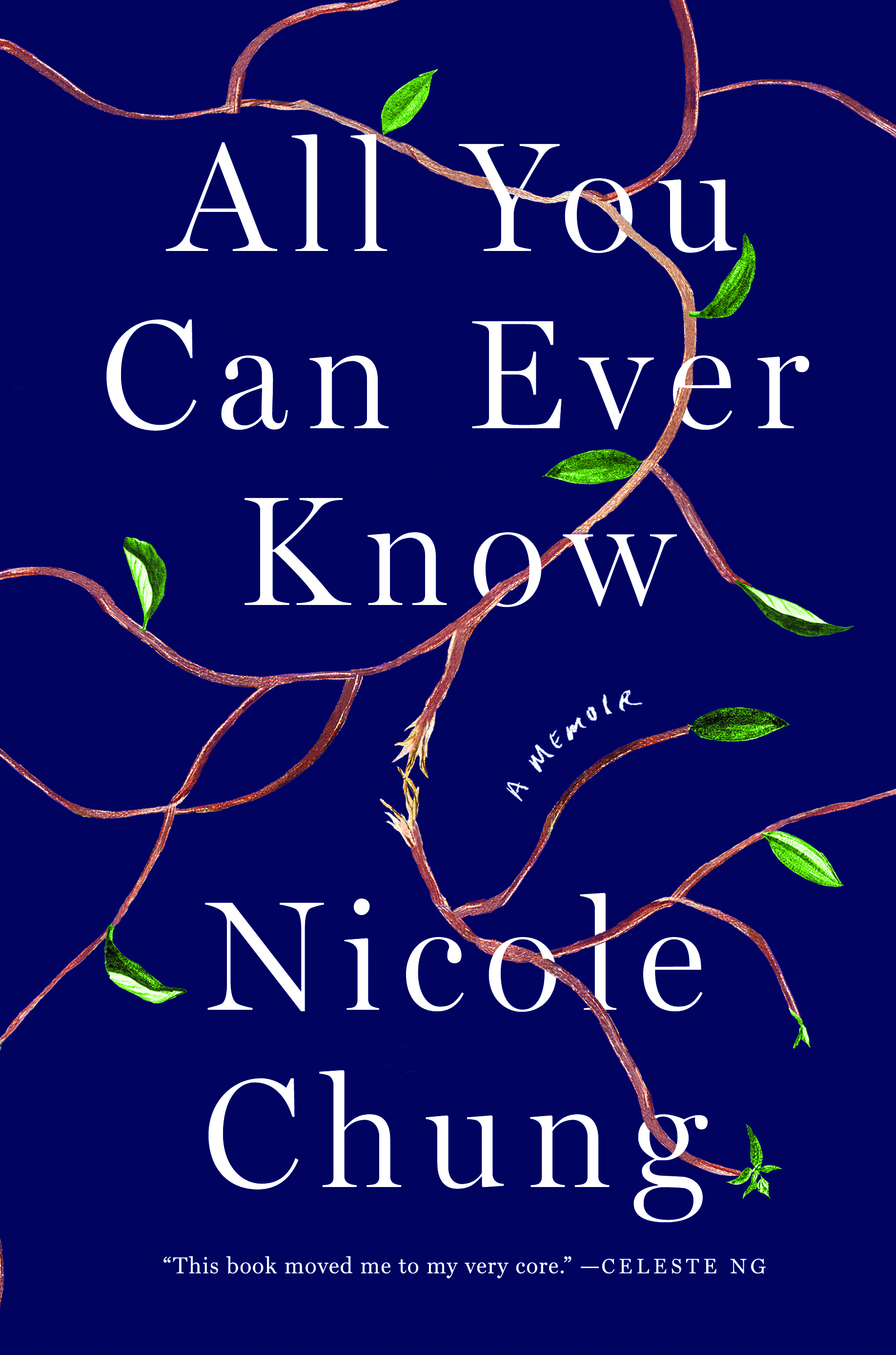 The cover of the book All You Can Ever Know