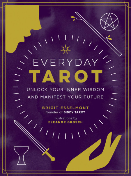The cover of the book Everyday Tarot