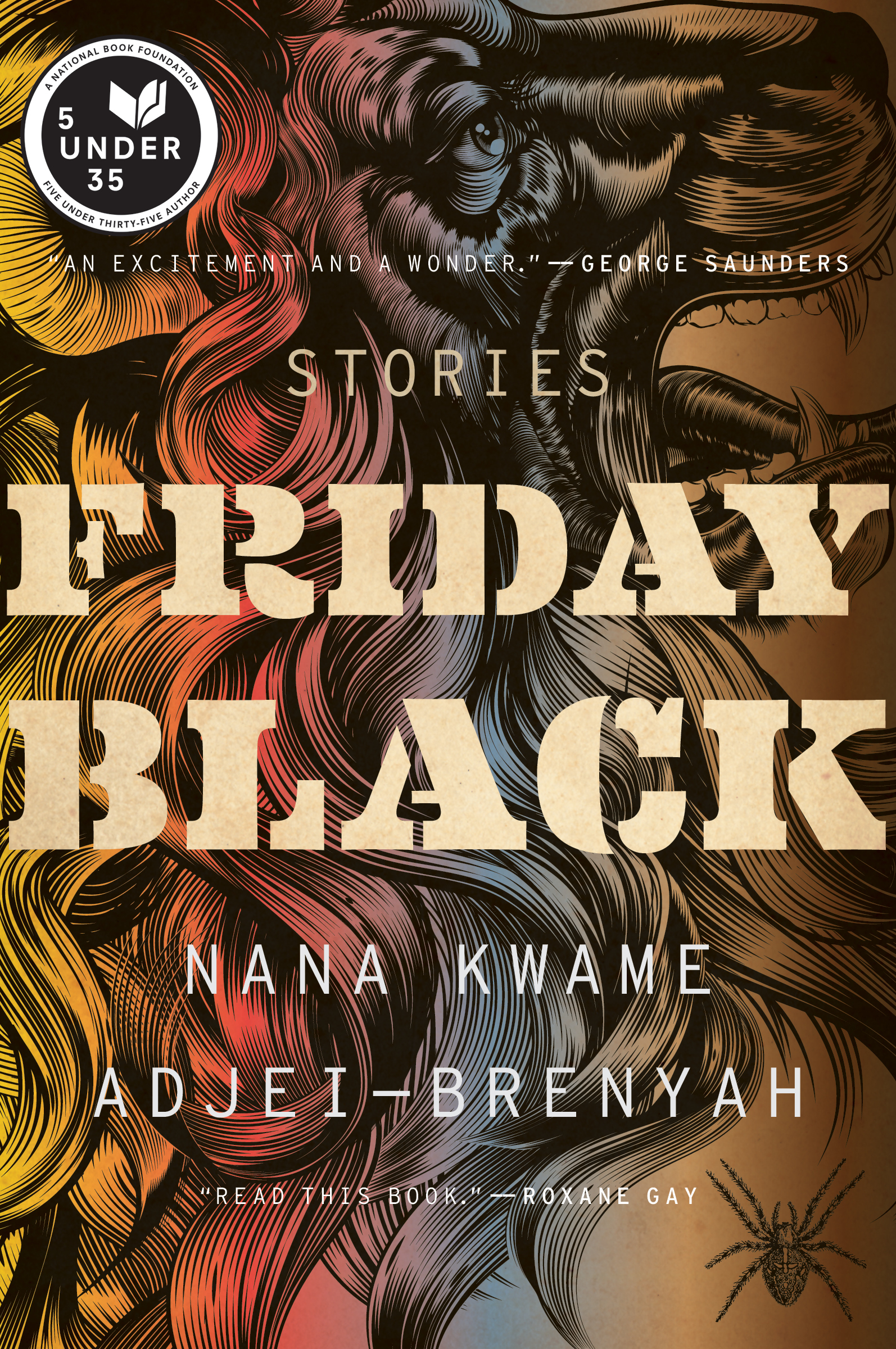 The cover of the book Friday Black