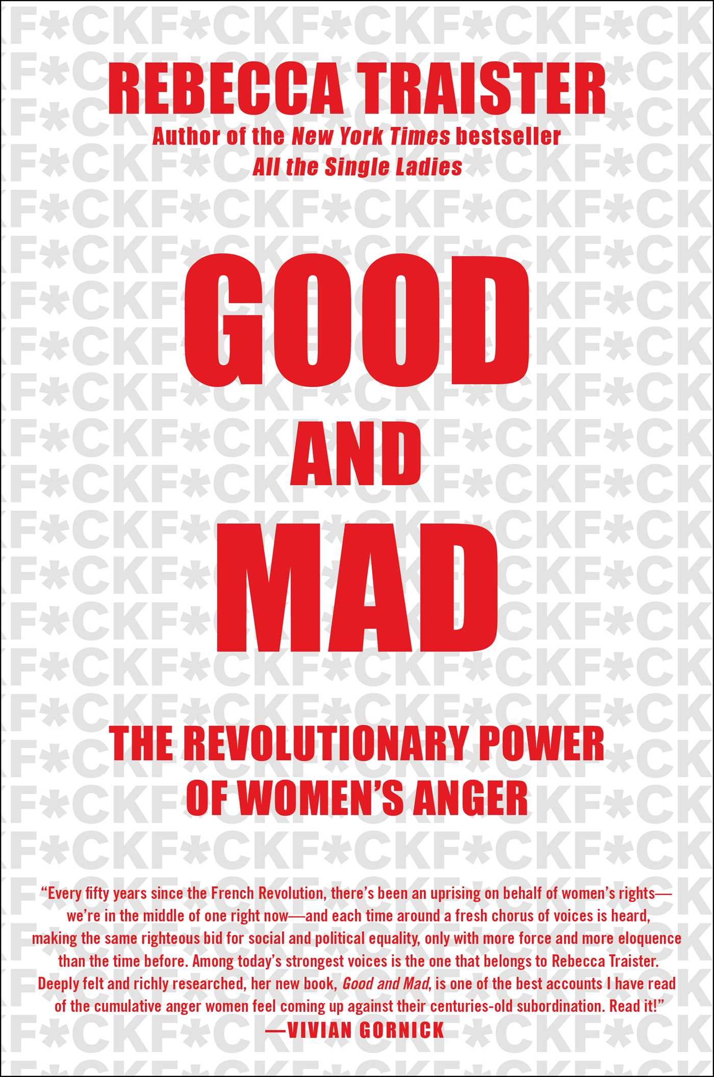 The cover of the book Good and Mad