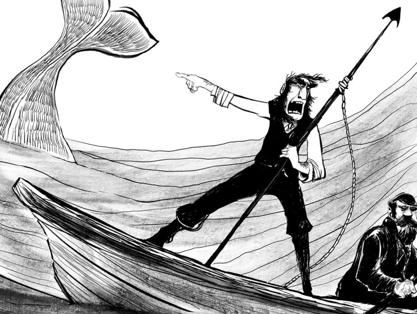 books inspired by Moby Dick
