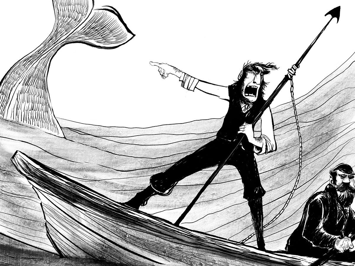 Bøger inspireret af Moby Dick, Melvilles klassiske reddit-8814