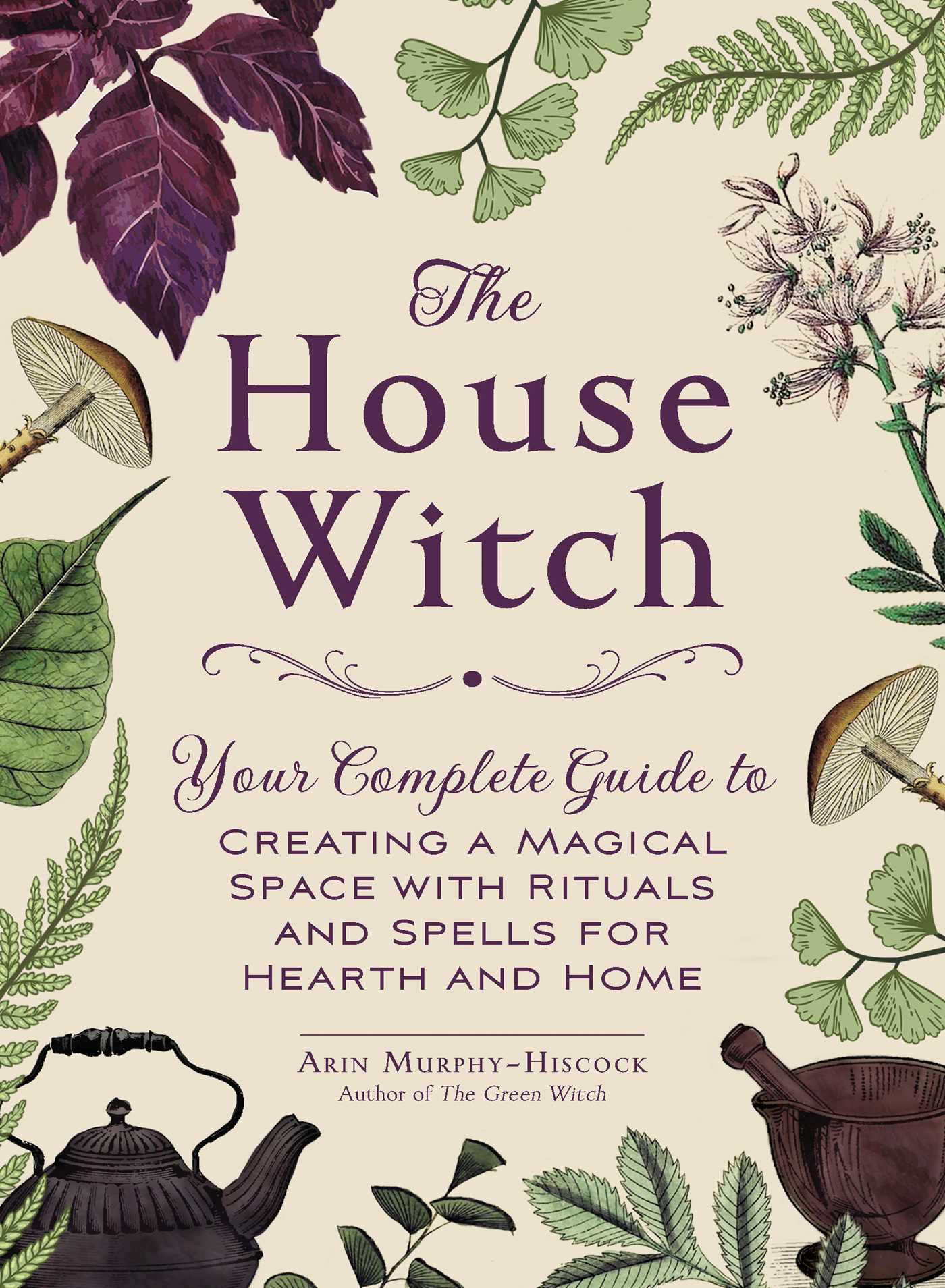 The cover of the book The House Witch