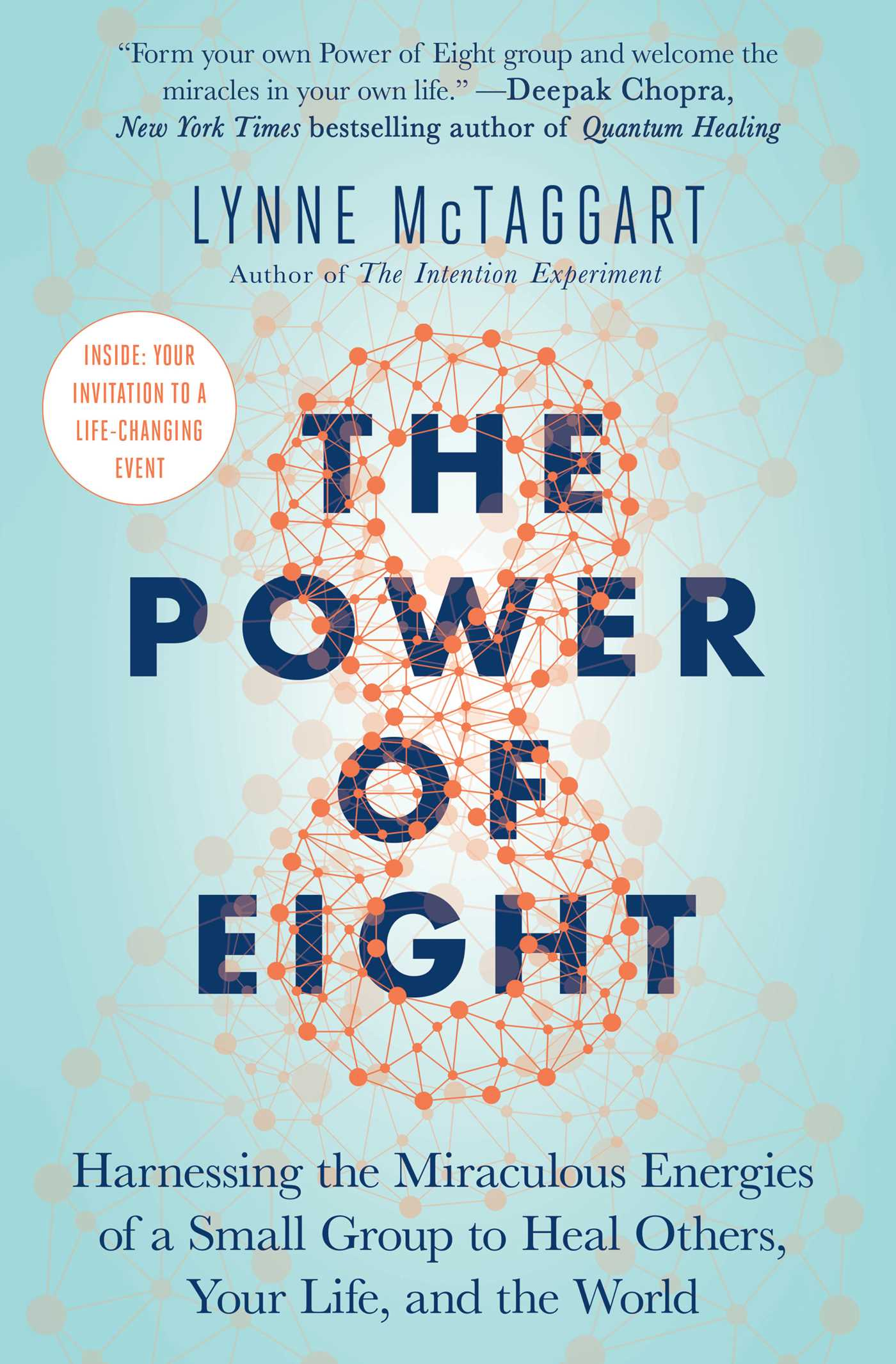 The cover of the book The Power of Eight