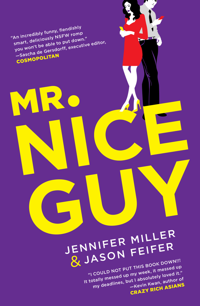 The cover of the book Mr. Nice Guy