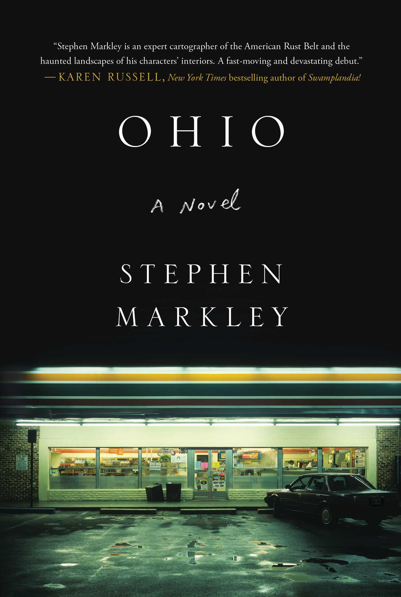 The cover of the book Ohio