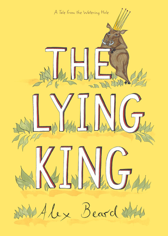 The cover of the book The Lying King