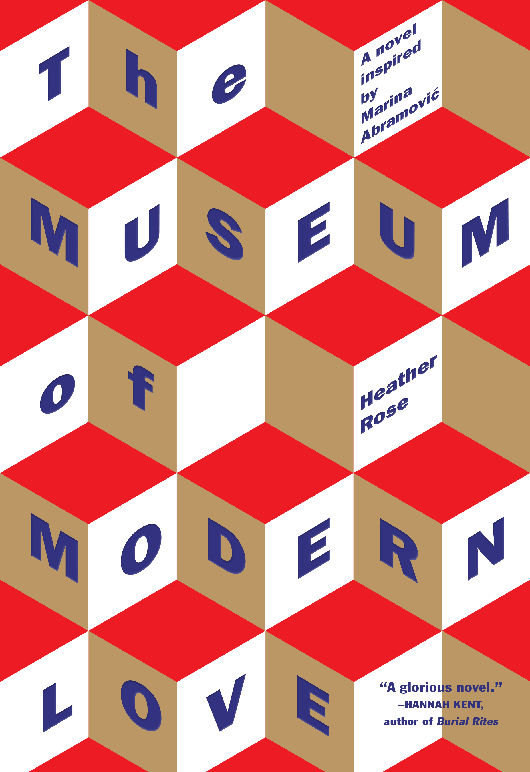 The cover of the book The Museum of Modern Love