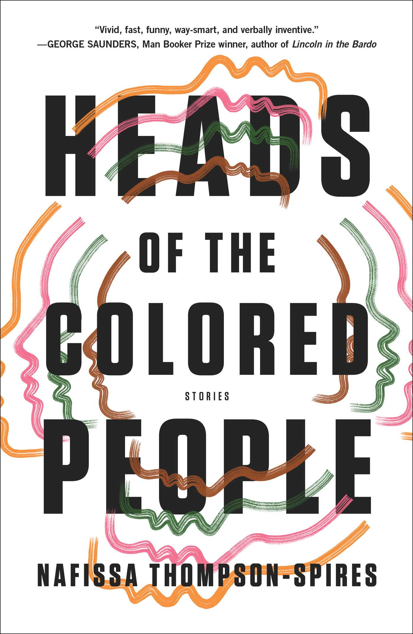 The cover of the book Heads of the Colored People